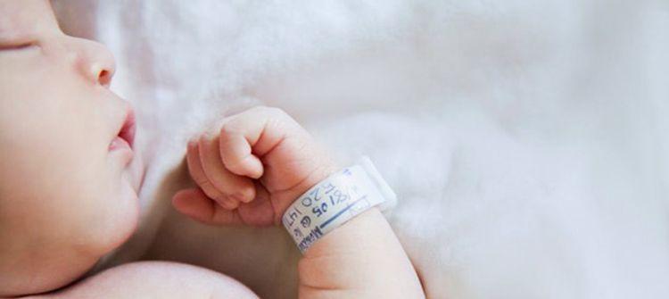Enregistrement du nouveau-né à l'hôpital